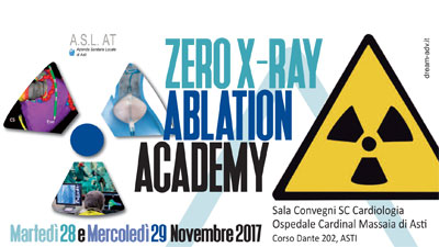 Zero X-ray ablation academy